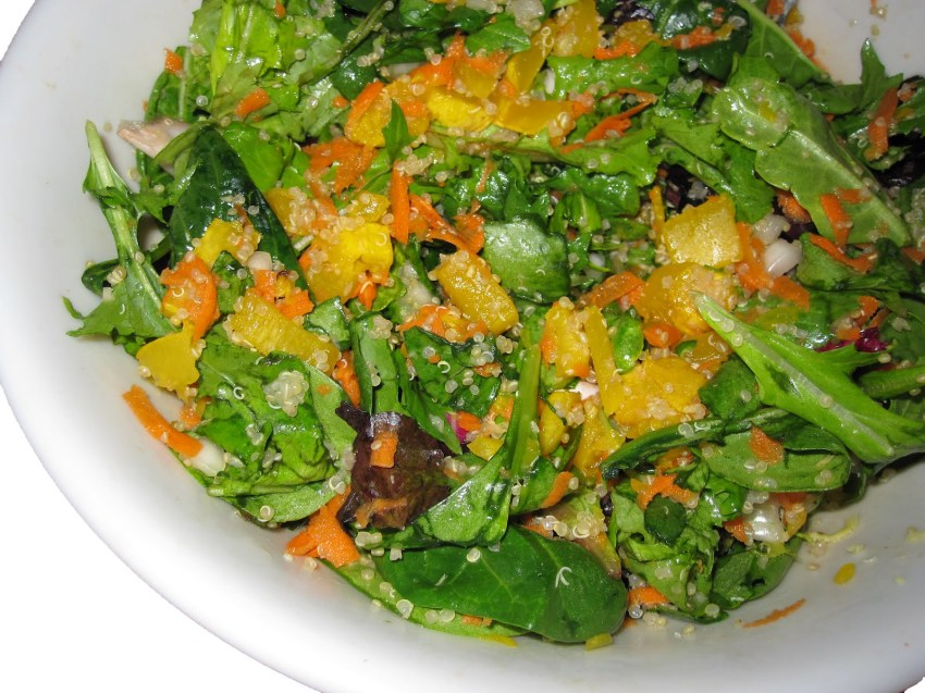 Cancer-Squashing Salad!